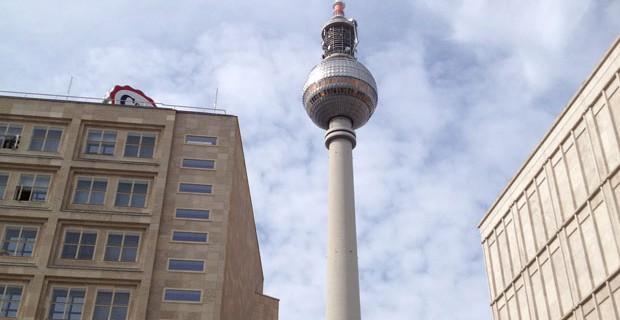 Fernsehturm Alexanderplatz Berlino Simbolo della Berlino Est