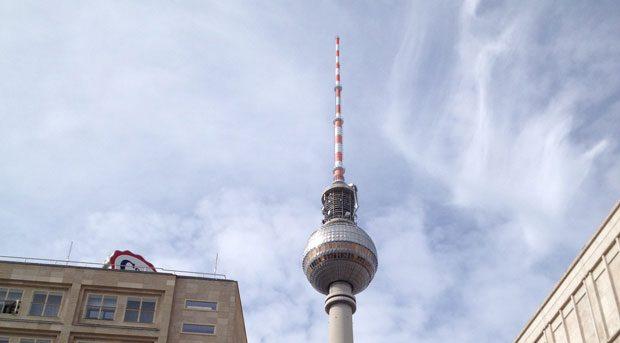 Fernsehturm Torre televisione Berlino