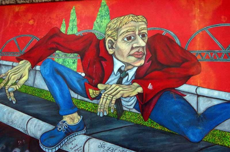 Graffiti - muro di berlino