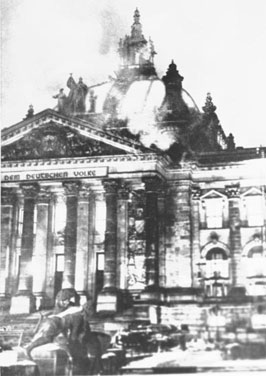 Incendio Cupola Reichstag