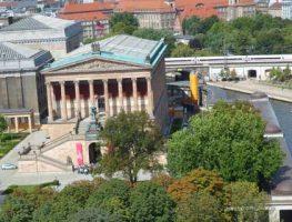 Museumsinsel Isola dei musei dal duomo Berlino