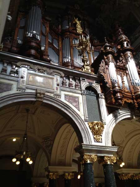 Organo Sauer duomo Berlino
