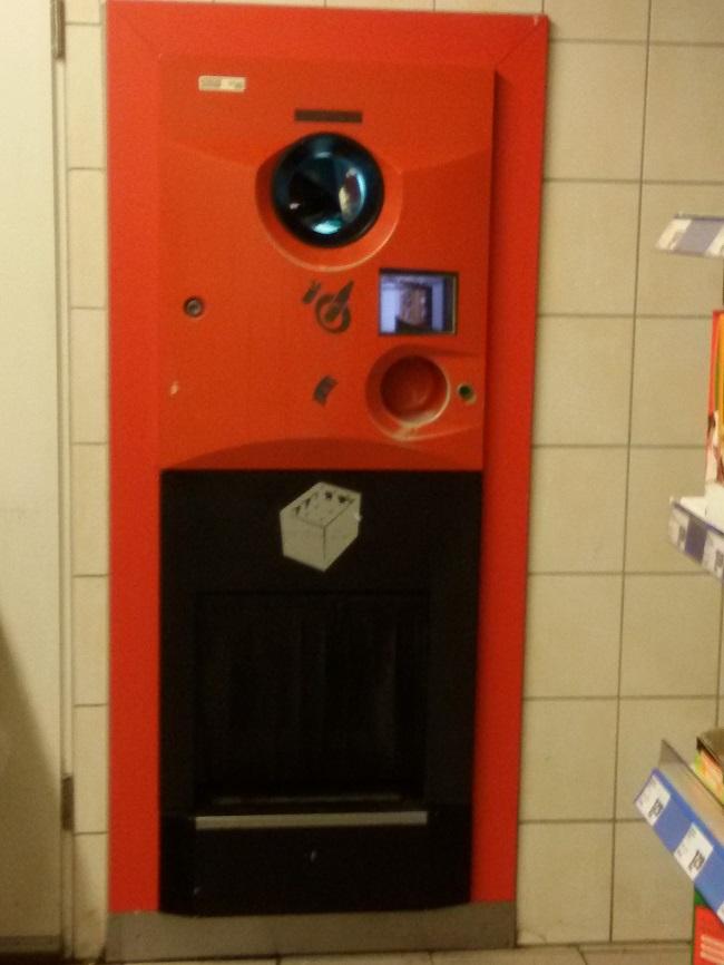 Pfand Raccoglitore rifiuti in Germania