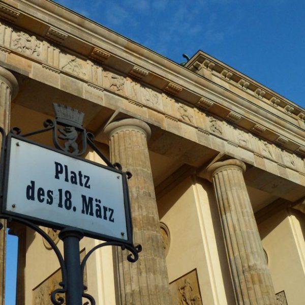 Porta Brandeburgo a Berlino