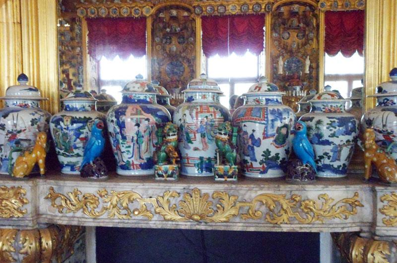 Sala della porcellana cinese