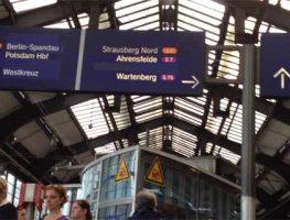 Spostarsi a Berlino