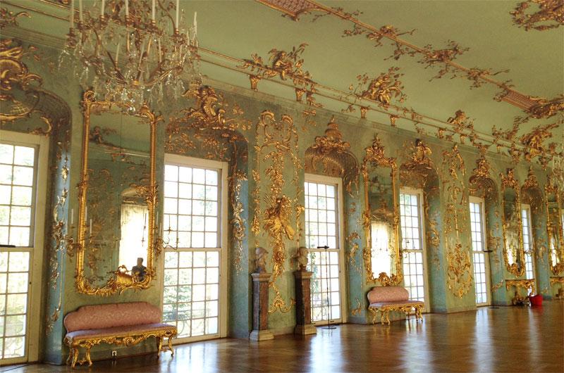 Galleria d'oro al Castello di Charlottenburg