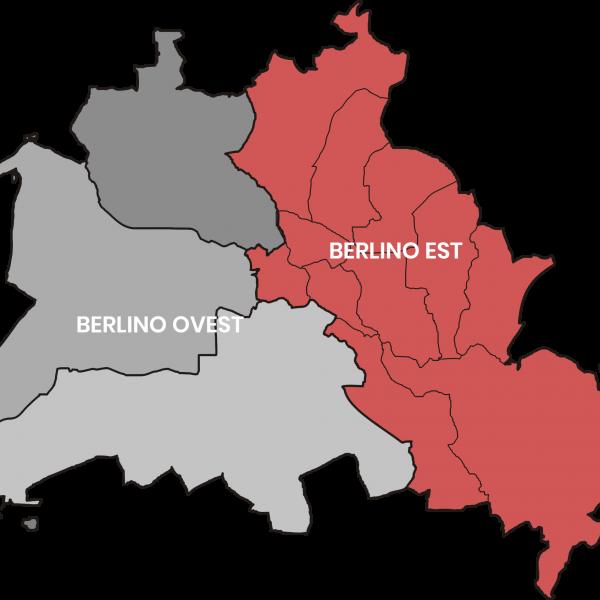 Berlino Est e Berlino Ovest