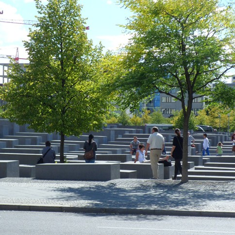 Monumento Shoah Berlino