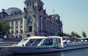 Tour in barca sul fiume Sprea